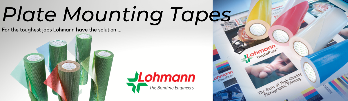 Lohmann Plate Mounting Tapes