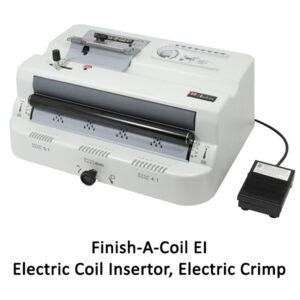 Finish A Coil EI Electric Plastic Coil insertor and crimper