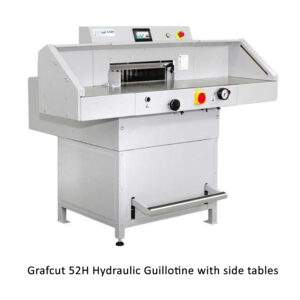 Grafcut 52H Guillotine with side tables