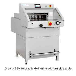 Grafcut 52H Guillotine without side tables