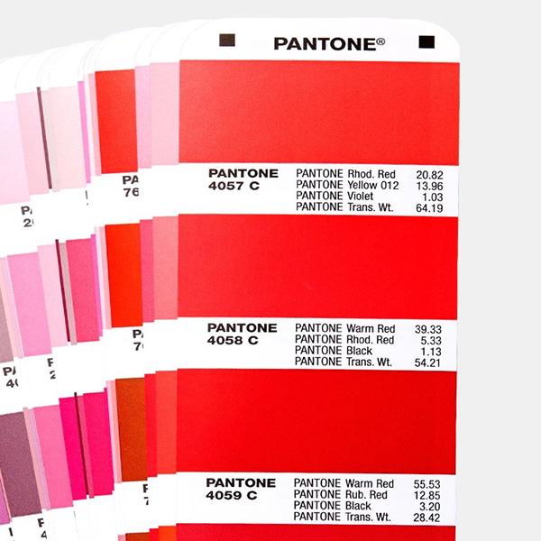 Pantone Colour Formula Guide Page