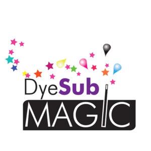 Dye Sublimation Magic Touch Logo