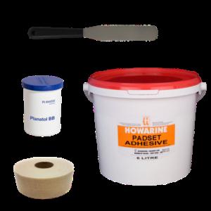 Padding Glues & Accessories