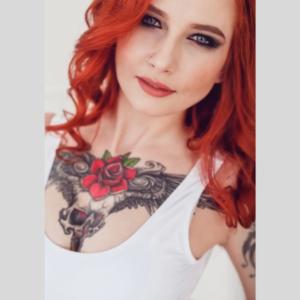 Temporary Tattoo Girl
