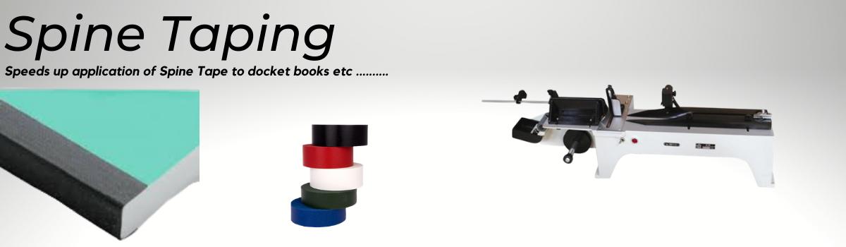 Spine Taping for Docket Books