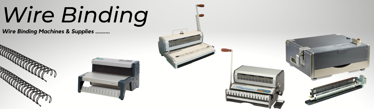 Wire Binding Machines and supplies