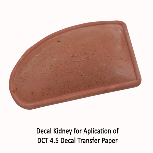 Decal Kidney for DCT 4.5 transfer paper
