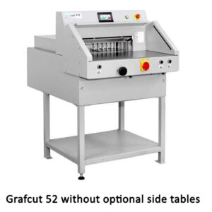 Grafcut 52 Electro Mechanical Guillotine without side tables